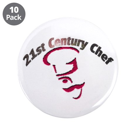 "21st Century Chef 3.5"" Button (10 pack)"