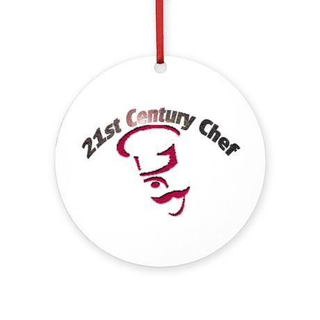 21st Century Chef Ornament (Round)