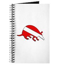 Armadillo Dive Flag Journal