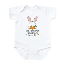 Some Bunny In North Dakota Infant Bodysuit
