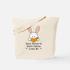 Some Bunny In North Dakota Tote Bag