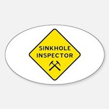 Sinkhole Inspector Decal