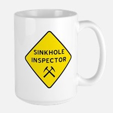 Sinkhole Inspector Mug