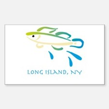 Long Island Fish Decal