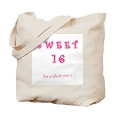 sweet 16 year   Tote Bag