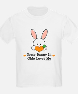 Some Bunny In Ohio Loves Me T-Shirt
