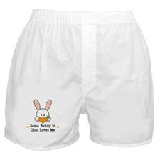 Some Bunny In Ohio Loves Me Boxer Shorts