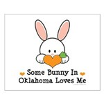 Some Bunny In Oklahoma Loves Me Small Poster