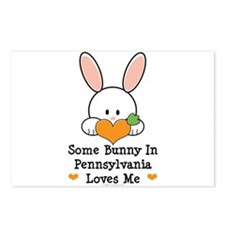Some Bunny In Pennsylvania Postcards (Package of 8