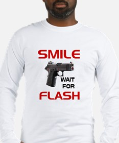 ARMED AND READY -- Long Sleeve T-Shirt