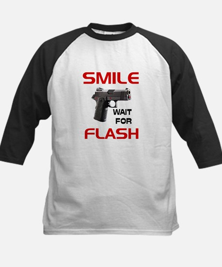 ARMED AND READY -- Kids Baseball Jersey