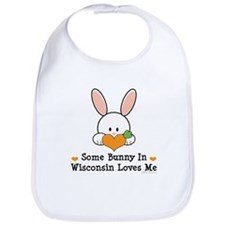 Some Bunny In Wisconsin Bib