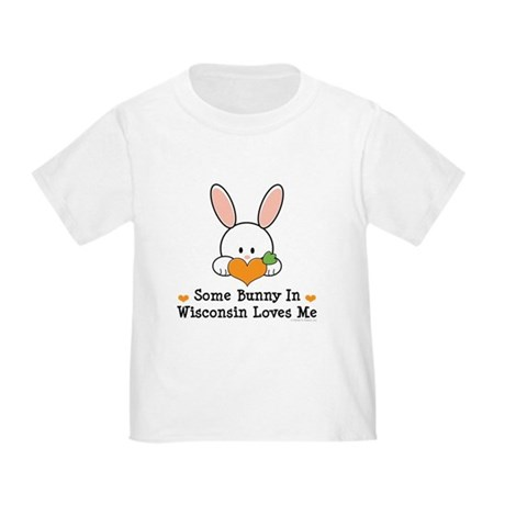 Some Bunny In Wisconsin Toddler T-Shirt