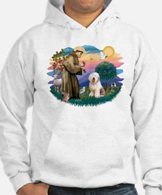 St Francis #2 / Old English (#6) Hoodie