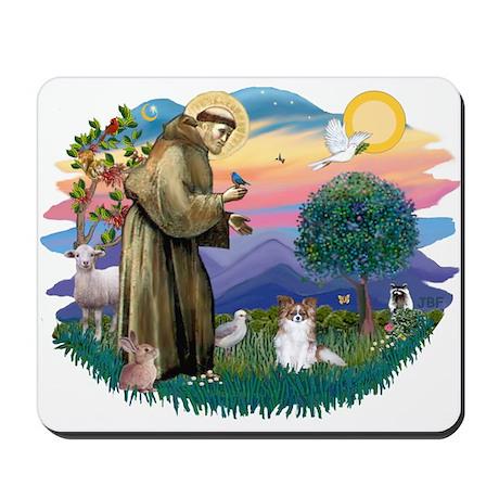 St. Francis #2 / Papillon (sw) Mousepad