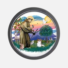St. Francis #2 / Papillon (sw) Wall Clock