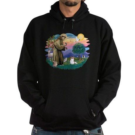 St. Francis #2 / Papillon (sw) Hoodie (dark)
