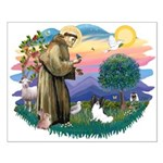 St. Francis #2 / Papillon Small Poster