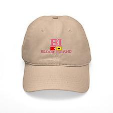 Block Island RI - Nautical Design Cap