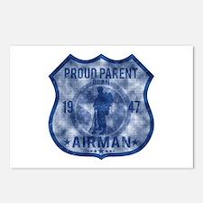 Proud Parent - Airman Postcards (Package of 8)
