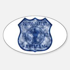 Proud Parent - Airman Decal
