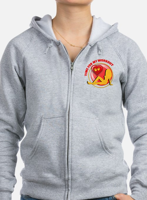 Workout Zip Hoody