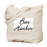 Bar harbor Canvas Tote Bag