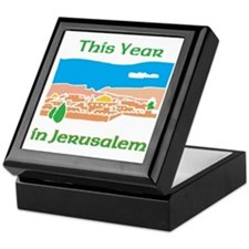 This Year In Jerusalem Keepsake Box