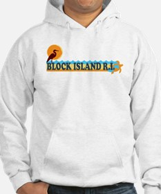 Block Island RI - Beach Design Jumper Hoody