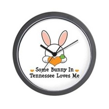Some Bunny In Tennessee Loves Me Wall Clock