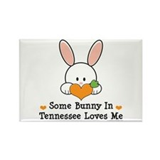 Some Bunny In Tennessee Loves Me Rectangle Magnet
