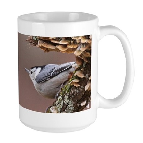 White-breasted Nuthatch Large Mug