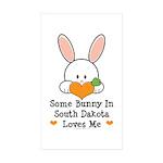Some Bunny In South Dakota Sticker (Rectangle 10 p