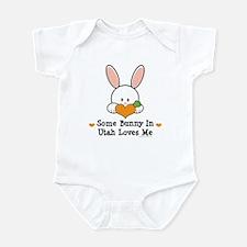 Some Bunny In Utah Loves Me Infant Bodysuit