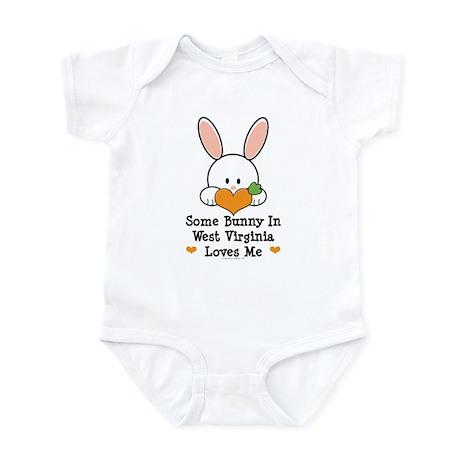 Some Bunny In West Virginia Infant Bodysuit