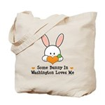 Some Bunny In Washington Tote Bag
