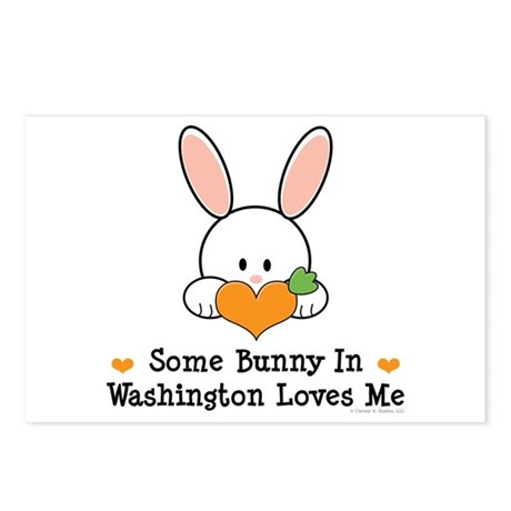 Some Bunny In Washington Postcards (Package of 8)