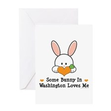 Some Bunny In Washington Greeting Card