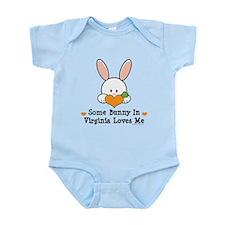 Some Bunny In Virginia Loves Me Infant Bodysuit