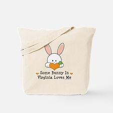 Some Bunny In Virginia Loves Me Tote Bag