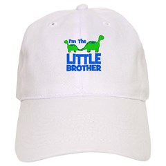 I'm The LITTLE Brother! Dinos Baseball Cap