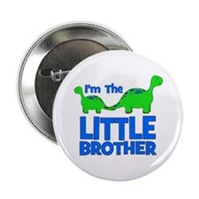 """I'm The LITTLE Brother! Dinos 2.25"""" Button"""