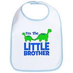 I'm The LITTLE Brother! Dinos Bib
