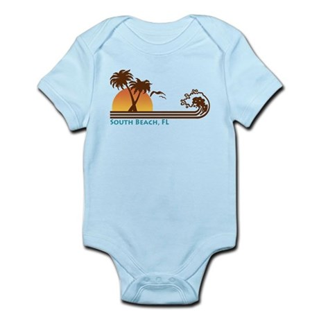 South Beach Fl Infant Bodysuit