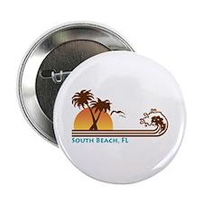 """South Beach Fl 2.25"""" Button"""