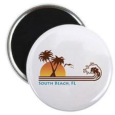 South Beach Fl Magnet