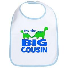 I'm The BIG Cousin! Dinosaur Bib