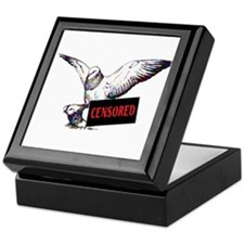 Pigeon Love Censored Keepsake Box