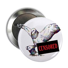"Pigeon Love Censored 2.25"" Button"