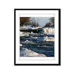 Upper Rapids Framed Panel Print